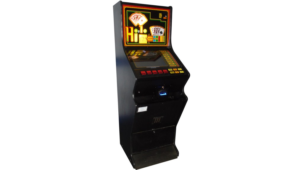 Slimline Poker Machine Belfast