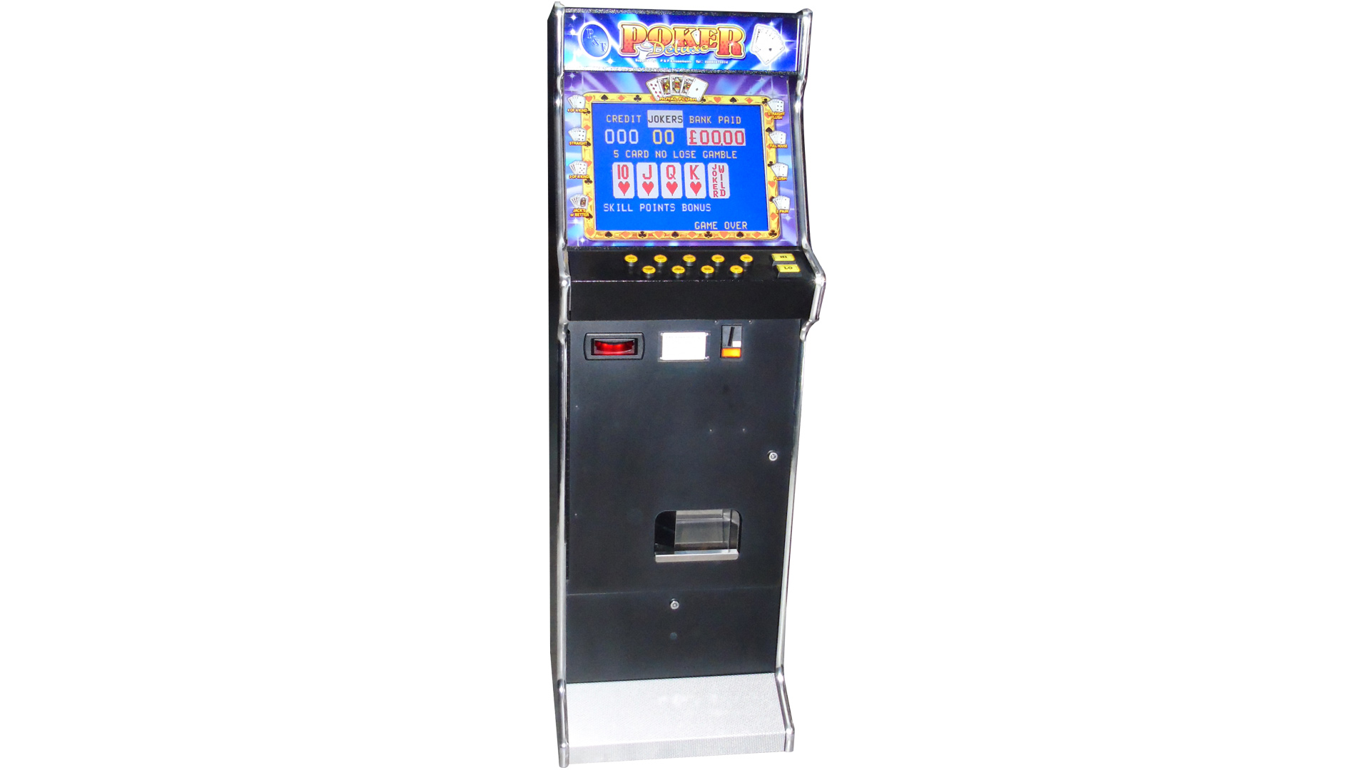 Deluxe Poker Machine Belfast